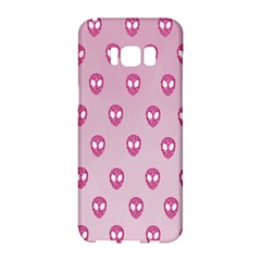 Alien Pattern Pink Samsung Galaxy S8 Hardshell Case  by BangZart