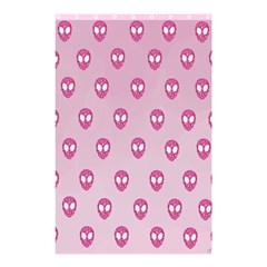 Alien Pattern Pink Shower Curtain 48  X 72  (small)  by BangZart