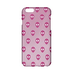 Alien Pattern Pink Apple Iphone 6/6s Hardshell Case by BangZart