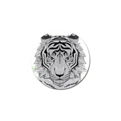 Tiger Head Golf Ball Marker (10 Pack) by BangZart