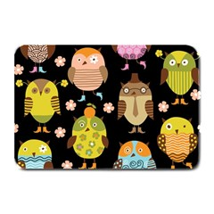 Cute Owls Pattern Plate Mats by BangZart