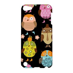 Cute Owls Pattern Apple Ipod Touch 5 Hardshell Case