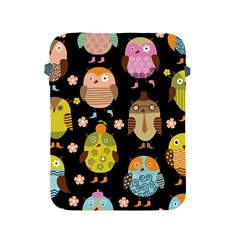Cute Owls Pattern Apple Ipad 2/3/4 Protective Soft Cases