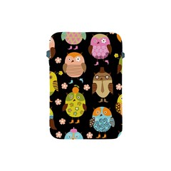 Cute Owls Pattern Apple Ipad Mini Protective Soft Cases by BangZart
