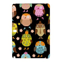 Cute Owls Pattern Samsung Galaxy Tab Pro 12 2 Hardshell Case by BangZart