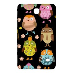 Cute Owls Pattern Samsung Galaxy Tab 4 (8 ) Hardshell Case