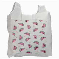 Watermelon Wallpapers  Creative Illustration And Patterns Recycle Bag (two Side)