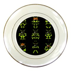Beetles Insects Bugs Porcelain Plates