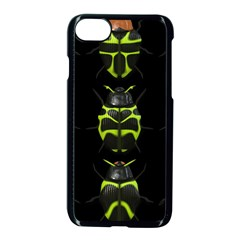 Beetles Insects Bugs Apple Iphone 7 Seamless Case (black)