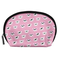 Girly Girlie Punk Skull Accessory Pouches (large)