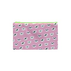 Girly Girlie Punk Skull Cosmetic Bag (xs) by BangZart