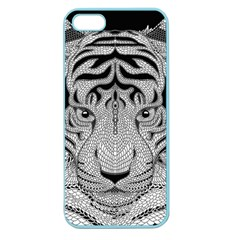 Tiger Head Apple Seamless Iphone 5 Case (color)