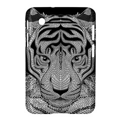 Tiger Head Samsung Galaxy Tab 2 (7 ) P3100 Hardshell Case