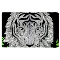 Tiger Head Apple Ipad Pro 12 9   Flip Case
