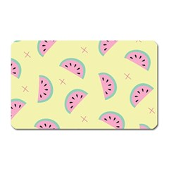 Watermelon Wallpapers  Creative Illustration And Patterns Magnet (rectangular)