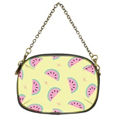 Watermelon Wallpapers  Creative Illustration And Patterns Chain Purses (two Sides)