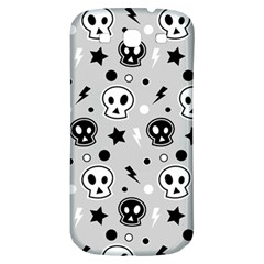 Skull Pattern Samsung Galaxy S3 S Iii Classic Hardshell Back Case by BangZart