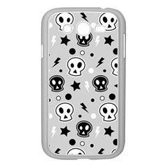 Skull Pattern Samsung Galaxy Grand Duos I9082 Case (white)