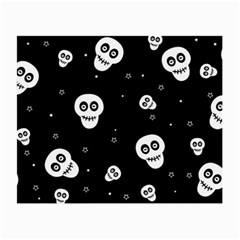 Skull Pattern Small Glasses Cloth (2 Side)