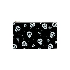 Skull Pattern Cosmetic Bag (small)  by BangZart