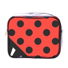 Abstract Bug Cubism Flat Insect Mini Toiletries Bags