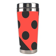 Abstract Bug Cubism Flat Insect Stainless Steel Travel Tumblers