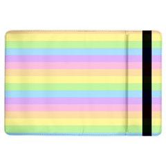 Cute Pastel Rainbow Stripes Ipad Air Flip