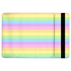 Cute Pastel Rainbow Stripes Ipad Air 2 Flip
