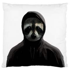 Gangsta Raccoon  Large Cushion Case (two Sides)