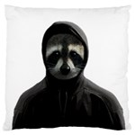 Gangsta raccoon  Large Cushion Case (Two Sides) Front
