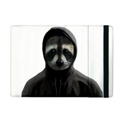 Gangsta Raccoon  Apple Ipad Mini Flip Case by Valentinaart