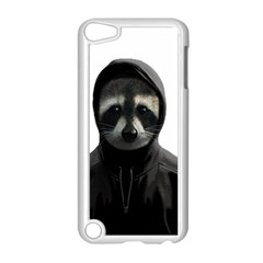 Gangsta Raccoon  Apple Ipod Touch 5 Case (white) by Valentinaart