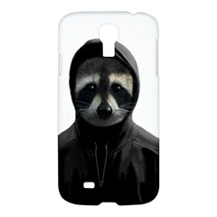 Gangsta Raccoon  Samsung Galaxy S4 I9500/i9505 Hardshell Case by Valentinaart