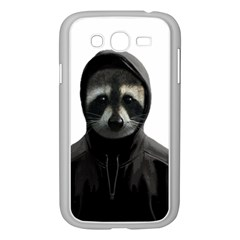 Gangsta Raccoon  Samsung Galaxy Grand Duos I9082 Case (white) by Valentinaart