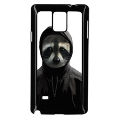 Gangsta Raccoon  Samsung Galaxy Note 4 Case (black) by Valentinaart
