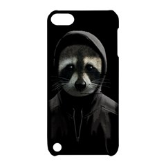 Gangsta Raccoon  Apple Ipod Touch 5 Hardshell Case With Stand by Valentinaart