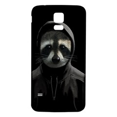 Gangsta Raccoon  Samsung Galaxy S5 Back Case (white)