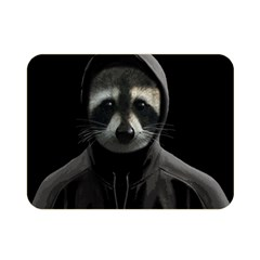 Gangsta Raccoon  Double Sided Flano Blanket (mini)