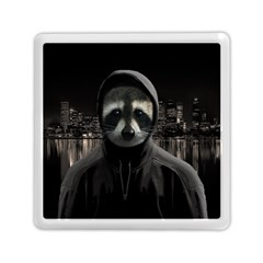 Gangsta Raccoon  Memory Card Reader (square)