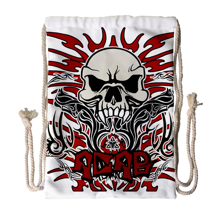 ACAB tribal Drawstring Bag (Large)