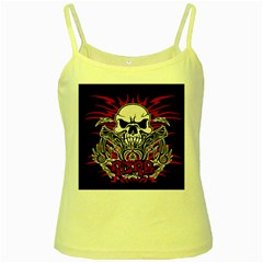 Acab Tribal Yellow Spaghetti Tank