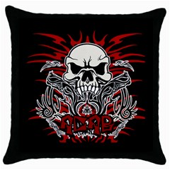 Acab Tribal Throw Pillow Case (black) by Valentinaart