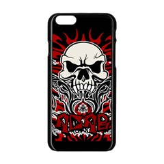Acab Tribal Apple Iphone 6/6s Black Enamel Case by Valentinaart