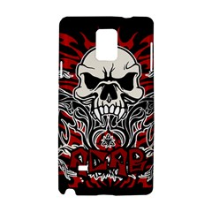 Acab Tribal Samsung Galaxy Note 4 Hardshell Case by Valentinaart