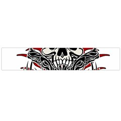 Skull Tribal Flano Scarf (large)