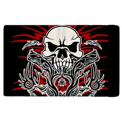 Skull Tribal Apple Ipad Pro 12 9   Flip Case