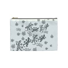 Ornate Lizards Cosmetic Bag (medium)  by Valentinaart