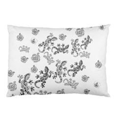Ornate Lizards Pillow Case (two Sides)
