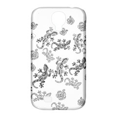 Ornate Lizards Samsung Galaxy S4 Classic Hardshell Case (pc+silicone) by Valentinaart