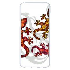 Ornate Lizards Samsung Galaxy S8 Plus White Seamless Case